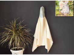 Полотенце с капюшоном Добрый сон вафельное полотно бежевый (17-01/5)