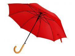 Зонт-трость Bergamo Promo полуавтомат красный (45100-5)