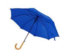 Зонт-трость Bergamo Promo полуавтомат синий (45100-4)