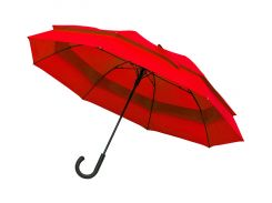 Зонт-трость Line Art Family полуавтомат большой красный (45300-5)