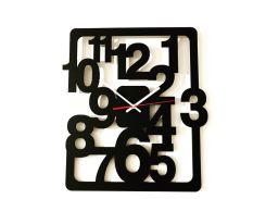 Настенные часы LaserBox ЛазерБокс Numbers(LBox-000120)