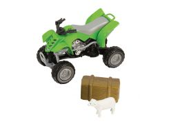 Игровой набор Тимстерс Teamsterz Фермерский квадроцикл зеленый (1372247-3)