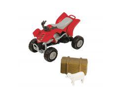 Игровой набор Тимстерс Teamsterz Фермерский квадроцикл красный (1372247-2)
