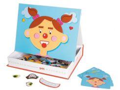 Магнитная игра Goki ТМ Гоки Funny Faces Girl Фанни Фейсес Герл (58492)