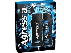 Подарочный набор men Agressia Sensitive шампунь гель для душа для чувствительной кожи (NPA073)