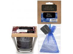 Набор ACappella аромасвеча Восточный Экспресс и аромат для авто Жемчужина Бали (5060574610208-12974)