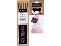 Набор ACappella Парфюмированные палочки Сады магнолии и аромат для авто Bubble Gum (5060574615210-12967)