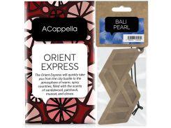 Набор ACappella аромасаше Восточный Экспресс и аромат для авто Жемчужина Бали (5060574611564-13230)