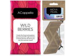 Набор ACappella аромасаше Лесные ягоды и аромат для авто Жемчужина Акойя (5060574611441-13223)