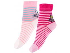 Набор детских носков Duna Дюна с котенком 8-10 р 2 пары (456/08-10к-м)