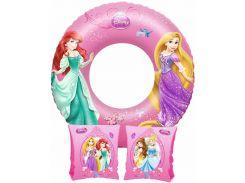 Комплект для плавания Bestway Бествей Принцессы Disney нарукавники и круг (91041-43)