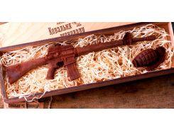 Шоколад для мужчин Ковальня шоколаду Автомат и граната 80% 464 г (000149К)