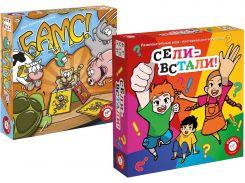 Набор настольных игр Piatnik Бамс! + Сели-встали (715174-6171)