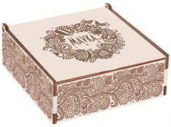 Подарочная коробка Mavka lab Мавка Лаб 20×20×6 см дерево (НФ-00000332)