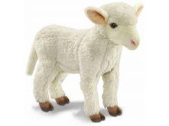 Мягкая игрушка Hansa ТМ Ханса Белый Ягненок, который стоит 28 см (6562)