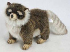 Мягкая игрушка Hansa ТМ Ханса Енот, который стоит 30 см (4666)