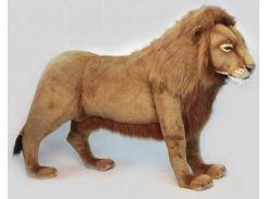 Мягкая игрушка Hansa ТМ Ханса Лев, который стоит 178 см (4317)