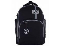 Рюкзак Kite Кайт Education FC Juventus 38 × 29 × 16,5 см 16 л черный (JV21-706M)