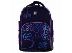 Рюкзак Kite Кайт Education Hello Kitty 38 × 29 × 16,5 см 16 л темно-фиолетовый (HK21-706M)