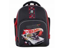 Рюкзак Kite Кайт Education Hot Wheels 36 × 29 × 16,5 см 15,5 л темно-серый (HW21-706S)