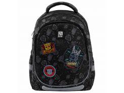 Рюкзак Kite Кайт Education Transformers 38 × 28 × 16 см 18 л черный (TF21-700M)
