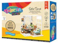 Набор для творчества Colorino Soho Time Миниатюрный дом своими руками (37190PTR)