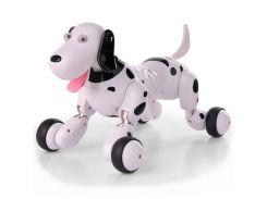 Робот-собака р/у Happy Cow (Хэппи Кау) Smart Dog Бело-Черный (HC-777-338b) (2711971236937)