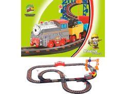 Железная дорога с поездом, 95 х 80 см, LiXin