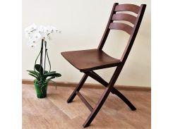 Складной стул деревянный Орех Silla
