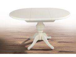 Стол обеденный раскладной Гермес белый