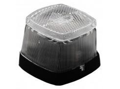 Передний белый контурно-габаритный фонарь с отражателем Aspock Squarepoint Weiss 100260
