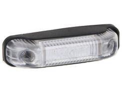 Фонарь габаритный Fristom FT-013 B LED белый с проводом