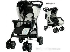 Детская прогулочная коляска Caretero Monaco Чёрный
