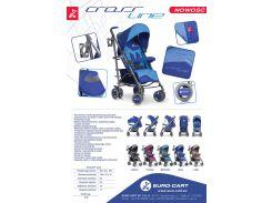 Прогулочная коляска EURO-CART CROSS LINE Синий