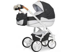 Детская универсальная коляска 2 в 1 Riko Brano Luxe 06 Серый