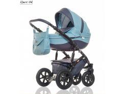 Детская коляска 2 в 1 Broco Eco Синий
