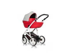 Детская универсальная коляска 2 в 1 Riko Aicon 04 Красный/Серый