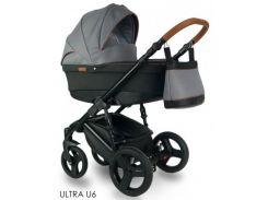 Универсальная детская коляска 2 в 1 BEXA ULTRA U6 Серый/Чёрный