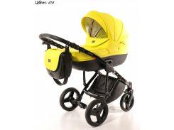 Детская коляска 2 в 1  Broco Dynamiko Лимонный