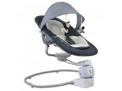 Кресло-качалка Baby Mix BY002 beige grey