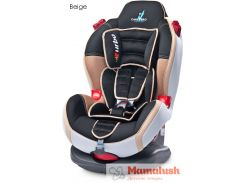 Автокресло Caretero Sport Turbo Fix Isofix (9-25кг) Beige