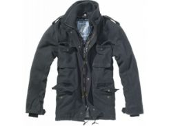 Куртка Brandit M-65 Voyager Wool Schwarz