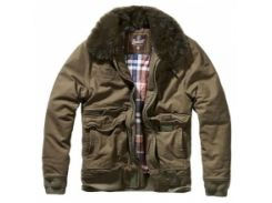 Куртка Brandit Perry Moleskin Winterjacket Olive