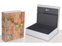 Книга-сейф MK 1847-1 (Бабочки)