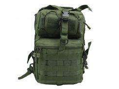 Сумка-рюкзак тактическая MHZ A92 800D 20л., олива