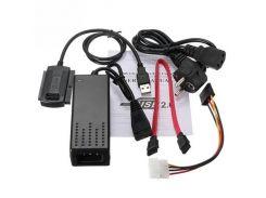 Переходник MHZ USB SATA IDE 2.5/3.5 c блоком питания