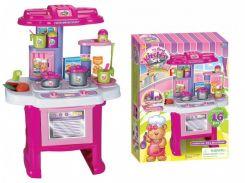 Игровой набор Toys Кухня со световыми и звуковыми эффектами Розовый  16641G