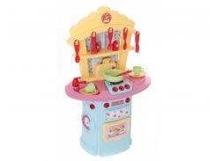 Детская кухня Спартак 1680380 кухонные принадлежности духовка тостер звук свет