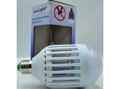 Лампа от комаров светодиодная SUNLIGHT, E27-6500K ABS+PC