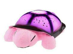 Ночник звездное небо черепаха музыкальный Спартак Pink
